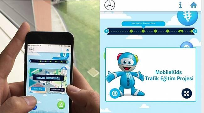 Mercedes-Benz Türk yaptı: Çocuk trafik eğitimi için