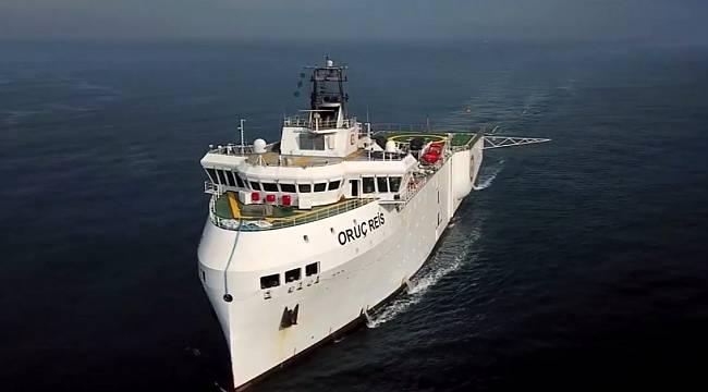 Oruç Reis Araştırma Gemisi için: Koruma Gemisi hizmet alım ihalesi açtı