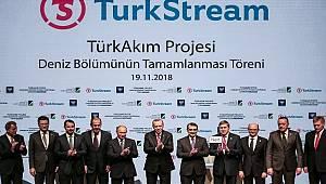 TürkAkım Doğalgaz Boru Hattı: 15 milyon hanenin doğalgazını karşılayacak