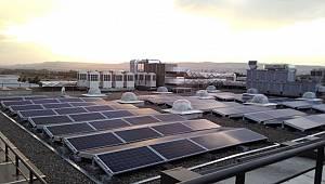 Garanti Bankası çatı tipi 3 güneş enerjisi santrali kurdu