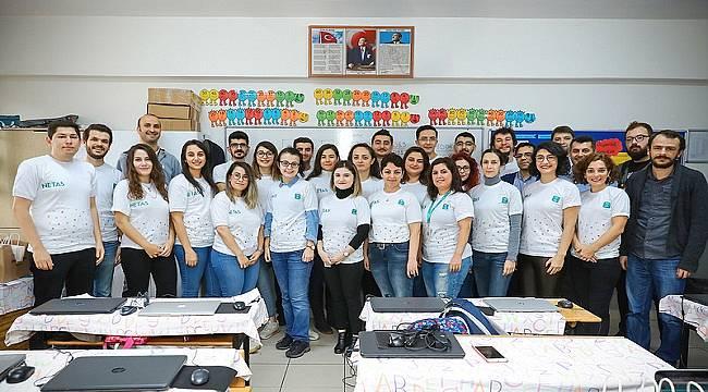 Netaş'ın mühendisleri, çocuklara kodlama öğretmek için biraraya geldi