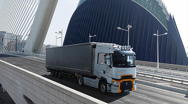 Renault'dan ÇEVREYE uyumlu kamyon: Daha düşük CO2 emisyonu 