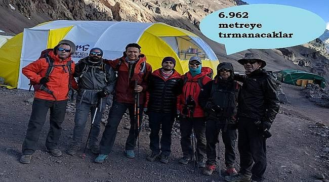 Arçelik 'Küresel Isınma' içi Arjantin'deki 6.962 metrelik Aconcagua Dağı'na tırmanacak