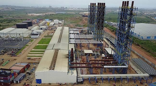 Gana Akaryakıt Enerji Santrali'nde: 2 milyon adam kazasız saatli üretim yaptı