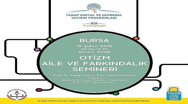 Bursa'da 'Eğitim Atölyeleri' düzenlenecek: TANAP'IN DESTEĞİYLE