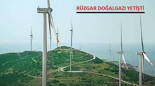 Rüzgarla elektrik üretimi doğalgaza yaklaştı
