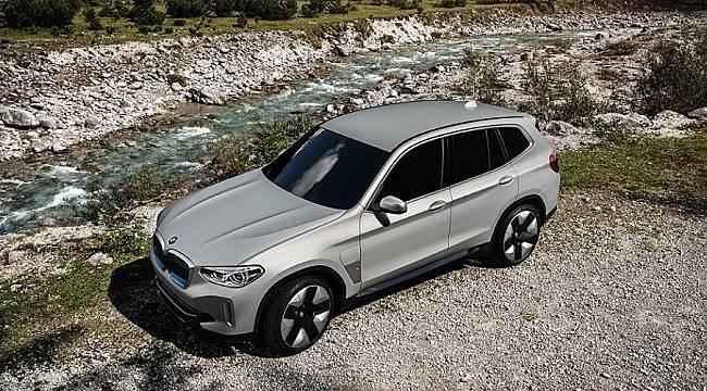 YENİ: Elektrikli BMW iX3