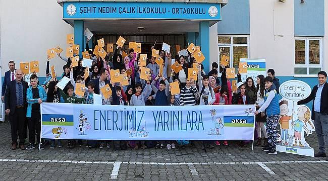 Aksa Enerji: 2.000 çocuğa Enerji Eğitimi verecek
