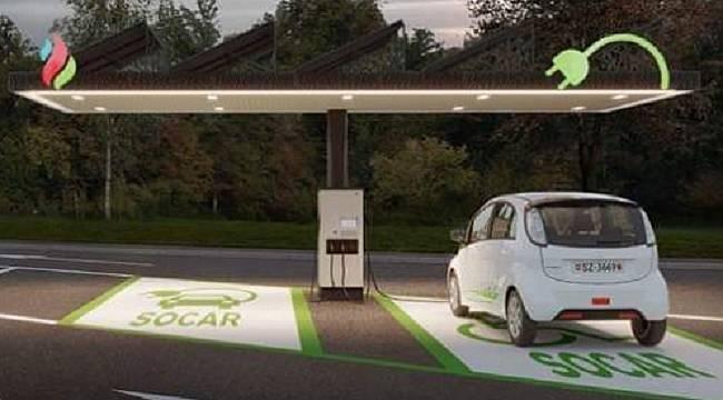 SOCAR İsviçre'de 20 elektrik şarj istasyonu kuracak