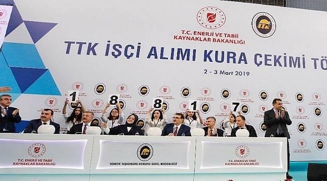 Türkiye Taşkömürü Kurumu 1.000 yeni işçi alımı kuraları çekildi