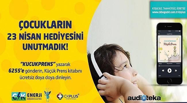 CK Enerji'den çocuklara 23 Nisan hediyesi!