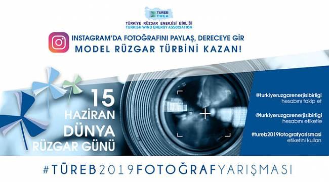 Dünya Rüzgar Günü kapsamında fotoğraf yarışması düzenliyor!