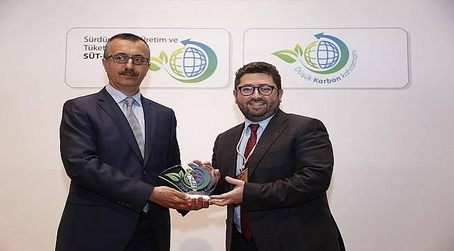 Enerjisa Üretim Düşük Karbon Kahramanı ödülü kazandı