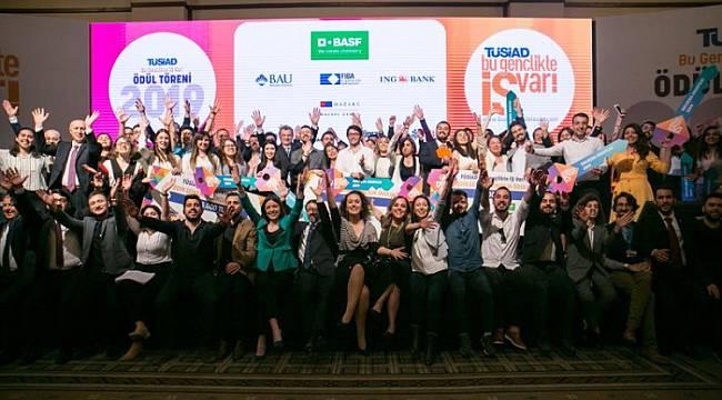 'TÜSİAD Bu Gençlikte İŞ Var' büyük ödülünün sahibi belli oldu