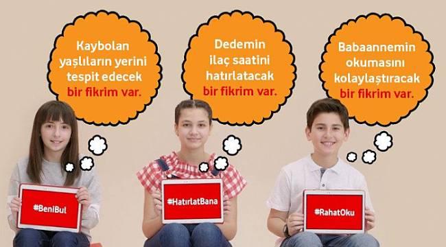 Vodafone Vakfı: En çok destek alan projeyi hayata geçirelim.