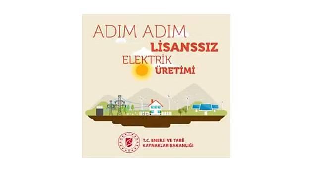 7 adımda kendi elektriğini kendin üret: ENERJİ BAKANLIĞI HAZIRLADI