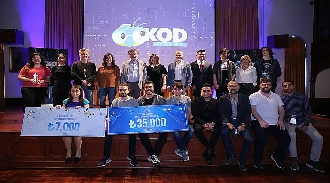 """KOD Ödülleri'nin oyun kategorisinde birinciliği, """"Kağıt Makineler"""" kazandı"""