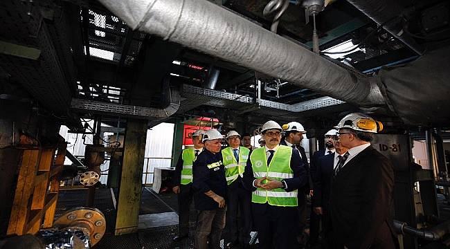 TKİ 'Kömürden' sıvı yakıt üretecek: ENERJİ BAKANI DÖNMEZ İNCELEDİ