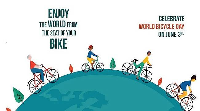 Enjoy the world from the seat of your bike