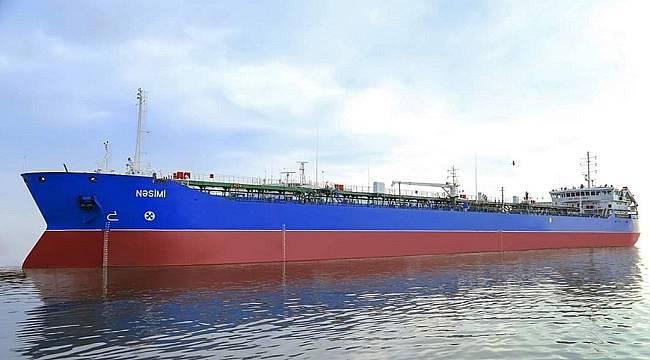 İlk Azeri petrolünü taşıyan tanker!