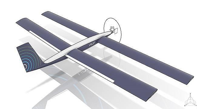 İlk güneş enerjili İHA Prototipini tanıttı!