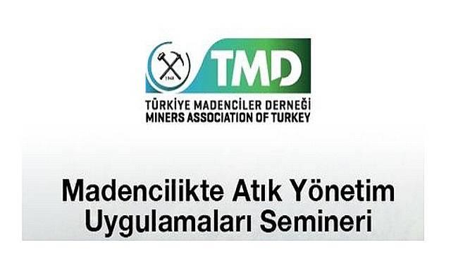 Maden Atıklarının Yönetimi Semineri: KATILIM ÜCRETSİZ