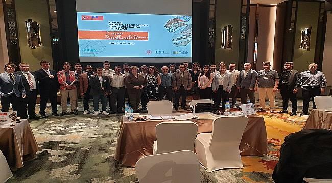 Türkiye Doğal Taş sektörü Vietnam ve Tayvan'da önemli iş bağlantıları gerçekleştirdi!