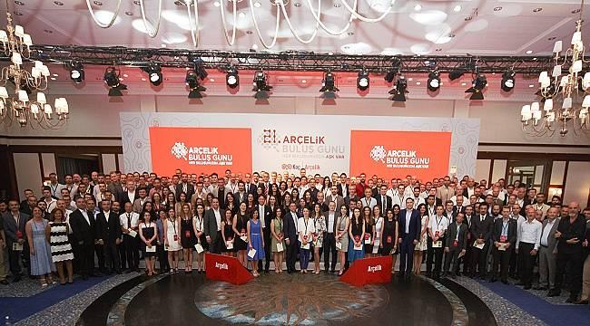 Arçelik 518 buluşcusuna Ödül Vererek Yeniliği Desteklemeye Devam Etti