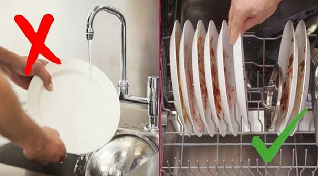 Boğaziçi Elektrik: Bulaşıkları makinede yıkamak  tasarruf sağlar