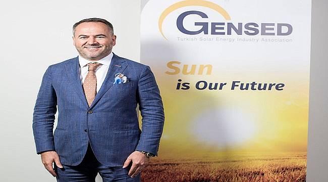GENSED Başkanı Demirdağ: Güneş enerjisinde elde ettiğimiz başarıyı destekleyen her adım çok önemli