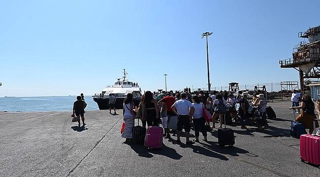 İDO Tekirdağ- Marmara Adası- Avşa Adası hattı seferlerine başladı