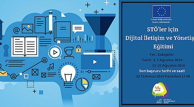 STÖ'ler için dijital iletişim ve sosyal medya eğitimi başvuruları başladı