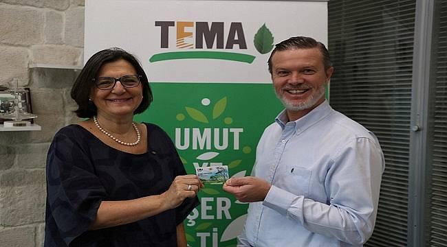 TEMA Vakfı'nın 800 bininci gönüllüsü oldu