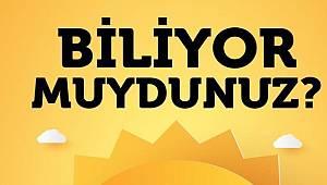 Türkiye'nin yıllık güneş ışınım miktarını biliyor musunuz?