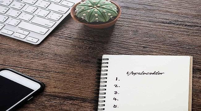 İPRAGAZ: Her pazartesi haftalık hedeflerinizi bir kağıda yazın