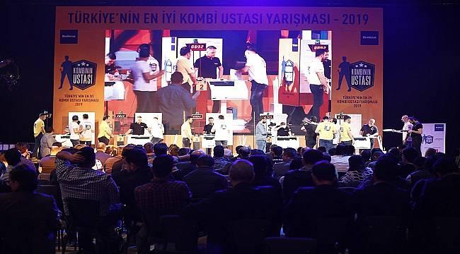 ÖDÜLÜ BUDERUS KAZANDI: Türkiye'nin En İyi Kombi Ustası Yarışmasıyla