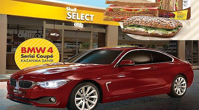 Shell 'BMW 4 serisi Coup' kazandırıyor!