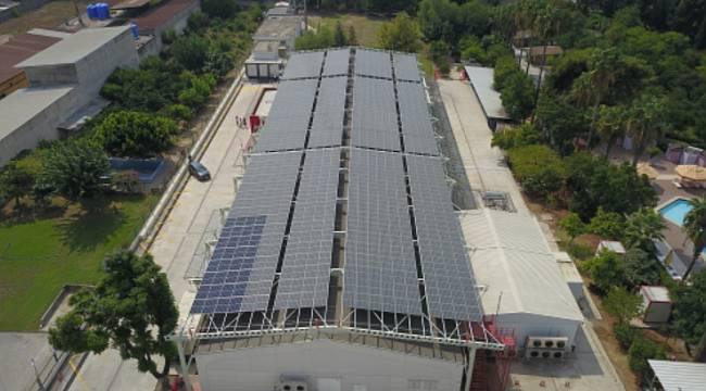 Vodafone 'Adana'da' güneş enerjisi yatırımı yaptı!