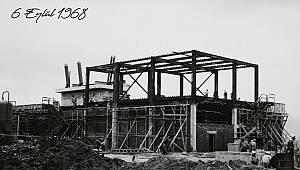 Yıl 1968: PETKİM'in İzmit – Yarımca'daki ana binası inşa ediliyor