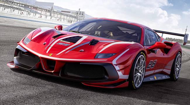 En yeni Ferrari için!