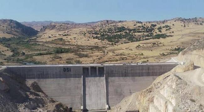 Ergani Barajı'nda su tutulmaya başlandı!