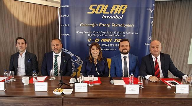 Güneş enerjisi sektörünün en kapsayıcı fuarını düzenleyecekler!