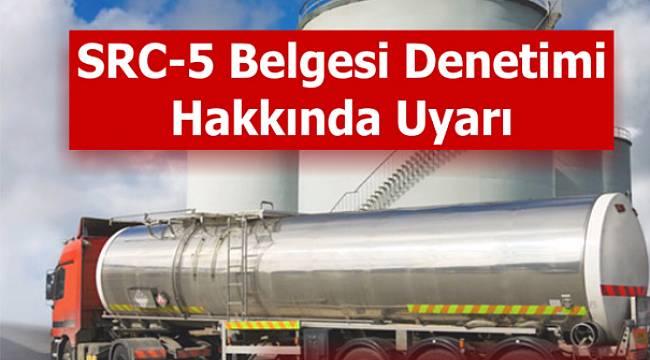 TABGİS: Tanker sürücüleri için önemli