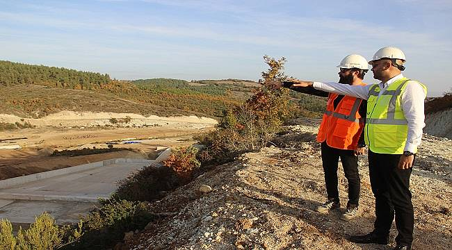 Altınzeybek-2 Göleti su tutmaya hazır: Doğu Biga Madencilik inşa etti