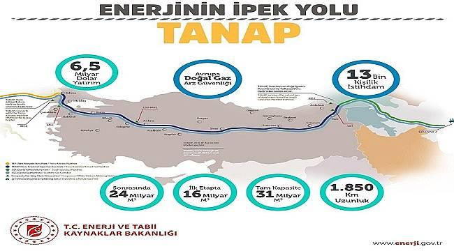Enerjinin 'İpek Yolu' : TANAP tamamlandı