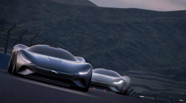 Sanal Dünyanın En Hızlı Elektrikli Jaguar'ı...