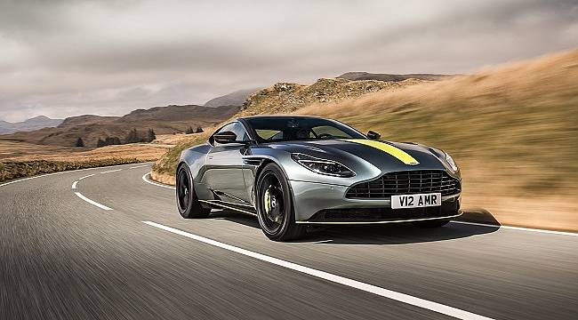 Aston Martin: Yeni elektrikli direksiyon sistemi... İSTANBUL'DA...