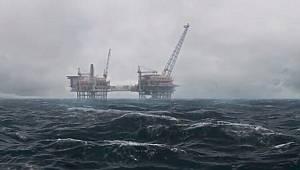 Doğal gaz Hazar Denizi'nden böyle çıkıp geliyor...