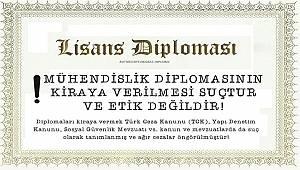 'Mühendislik diplomasının kiraya verilmesi suçtur': EMO
