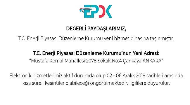 EPDK: Kısa süreli kesintiler olabilir